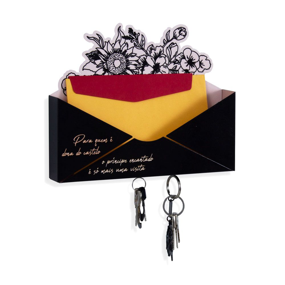 Porta Chaves e Cartas - Dona do Castelo