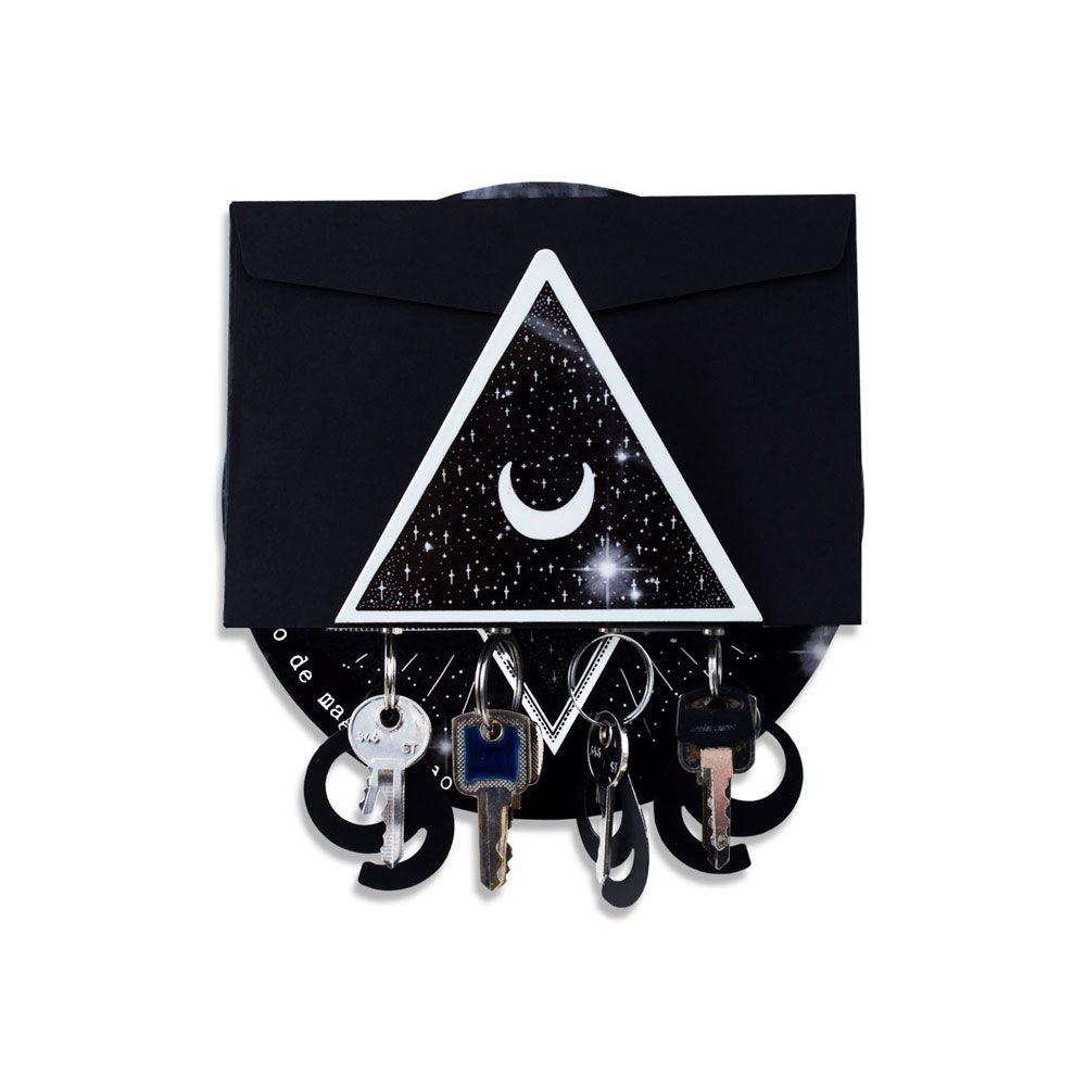 Porta Chaves e Cartas - Magia Todo Dia