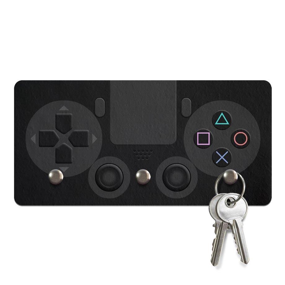 porta chaves ecol gico gamer joystick ps4 sonysta