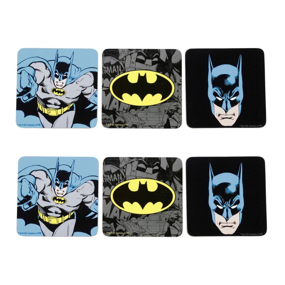 Porta Copos Batman Comics Logo Colorido Liga da Justiça
