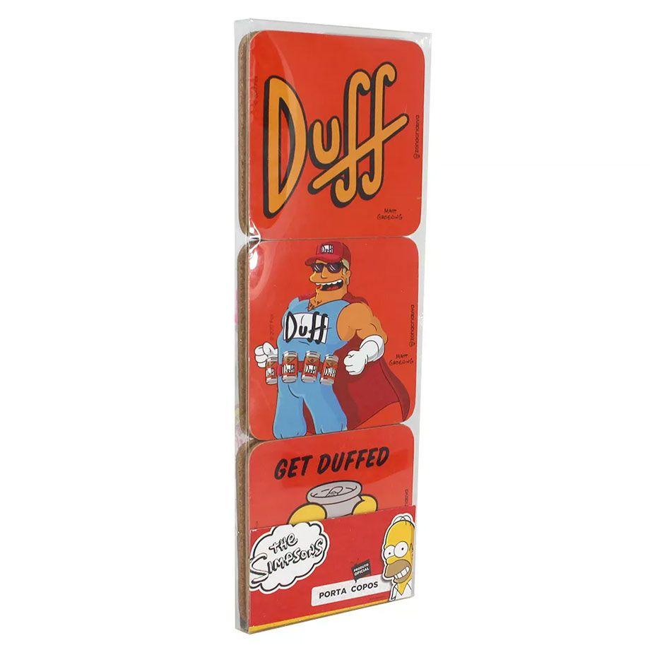 Porta Copos Duff Beer - The Simpsons