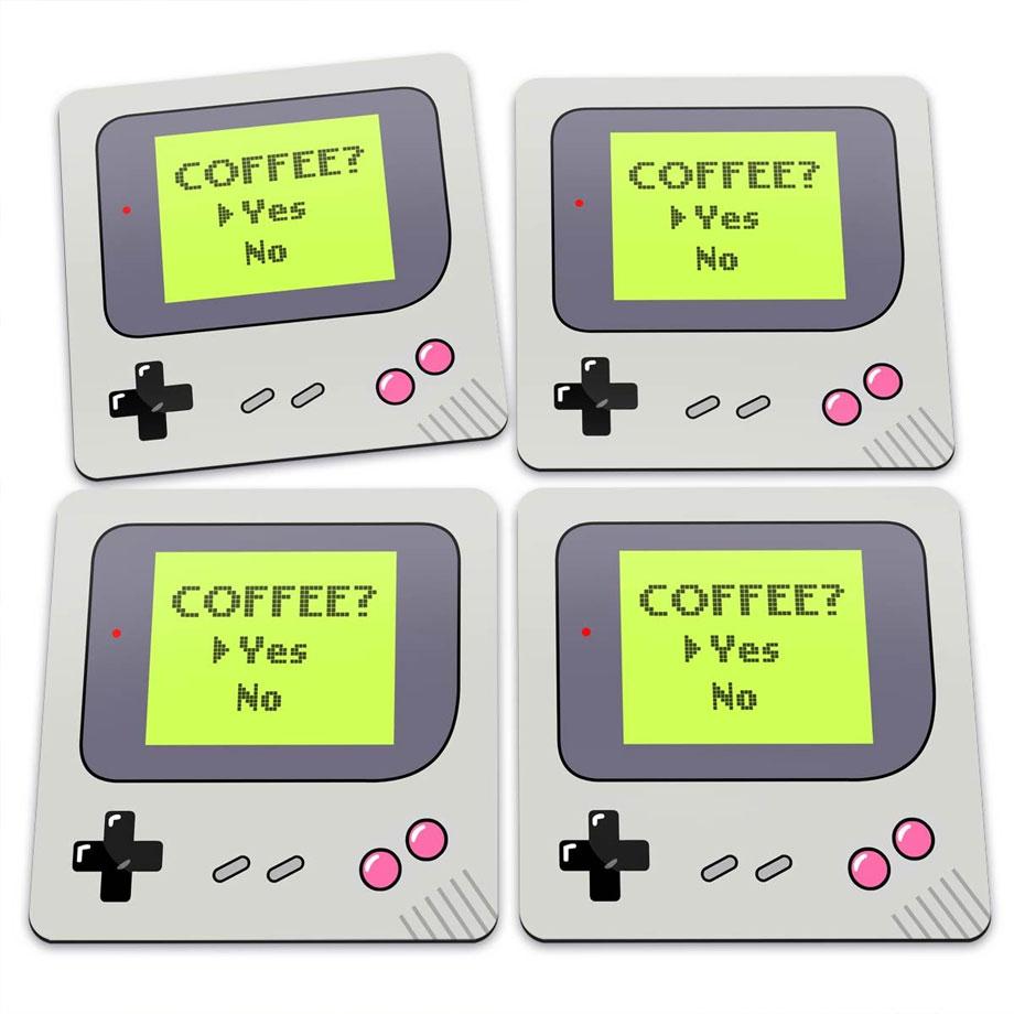 Porta Copos Gamer Boy Coffee Yes
