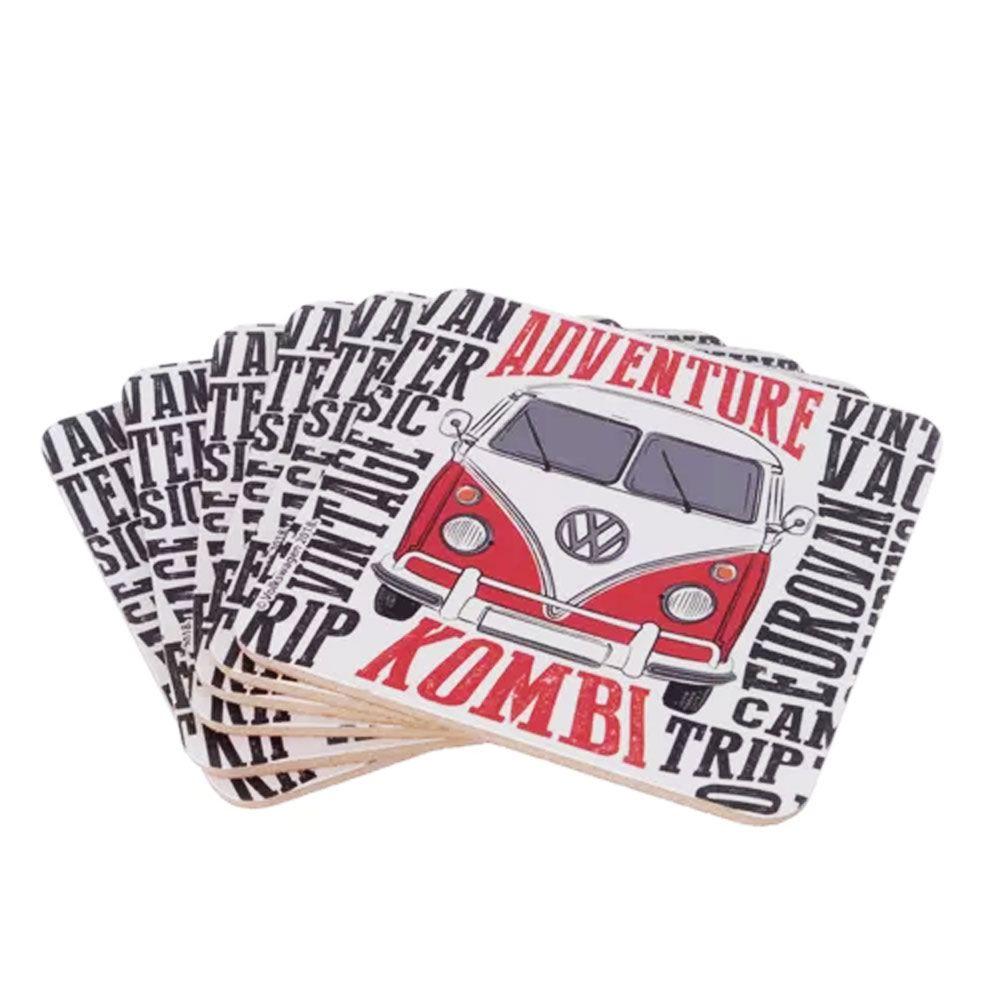 Porta Copos Kombi Colorida Clássica Volkswagen