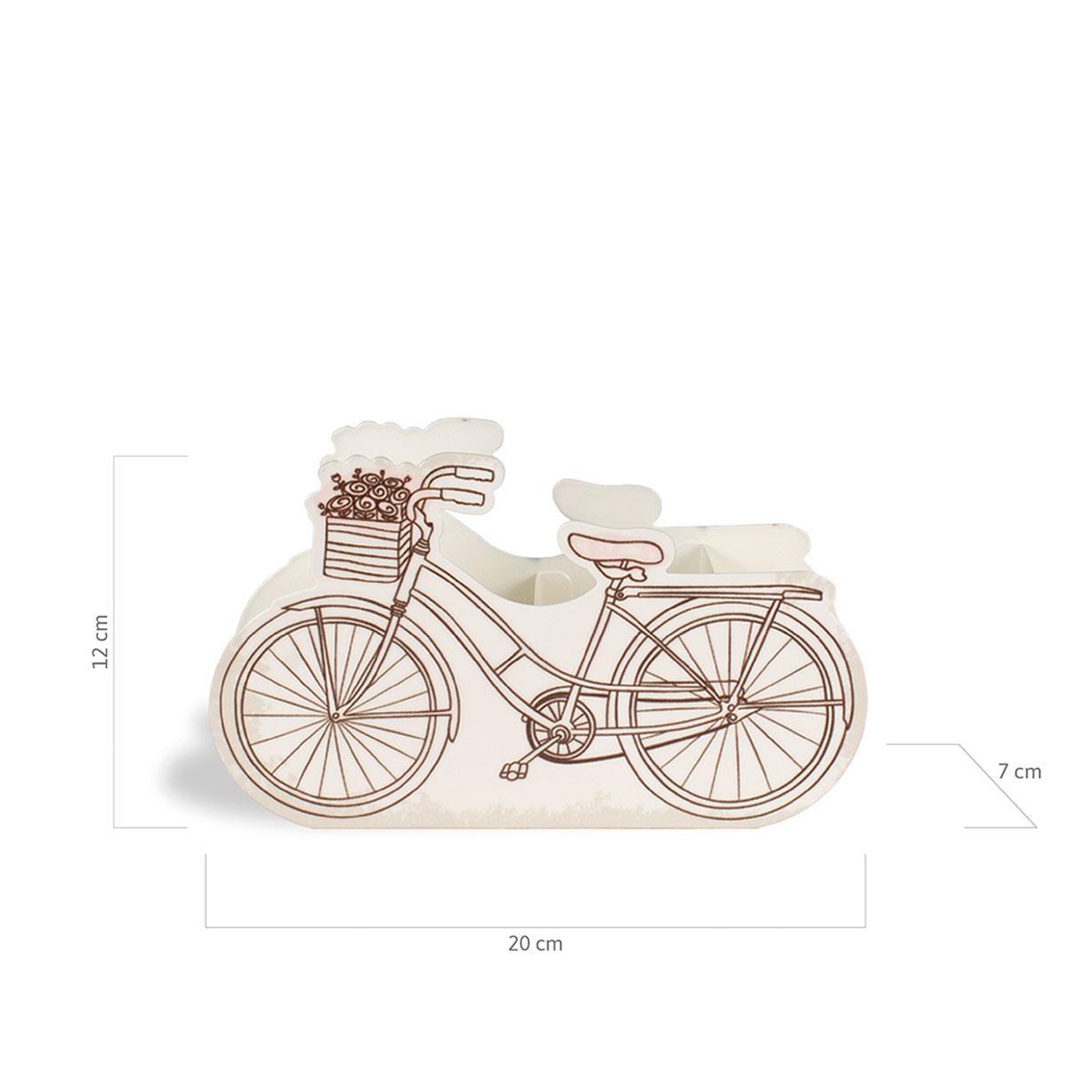 Porta Lápis Caneta E Acessórios Bicicleta Paris