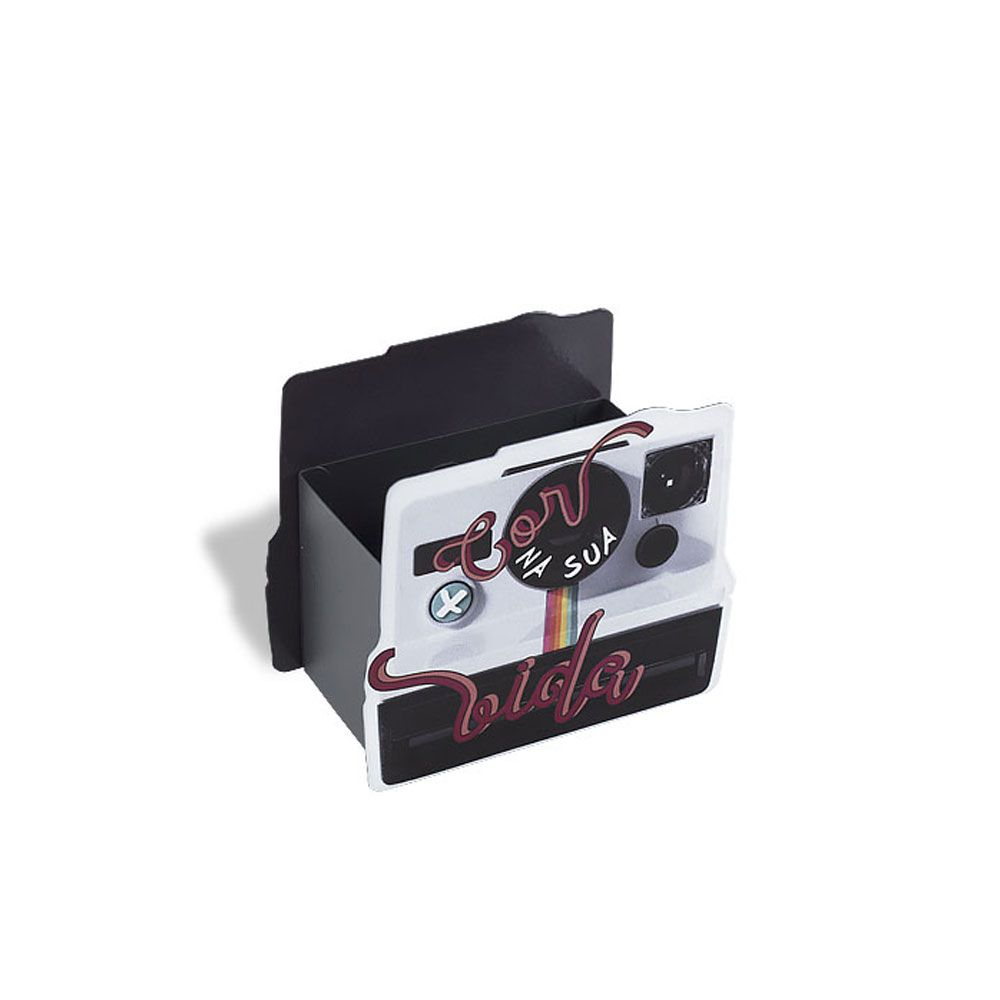Porta Lápis Mais Cor - Câmera Polaroid
