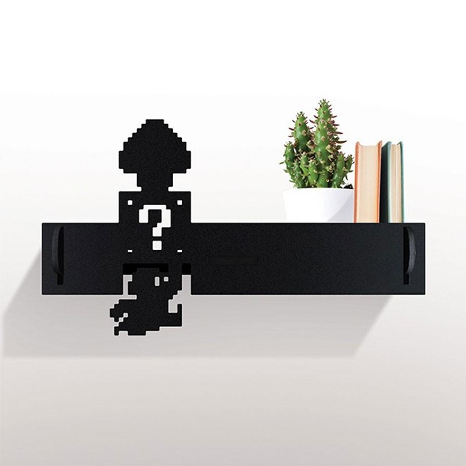Mini Prateleira Mario 8-Bits
