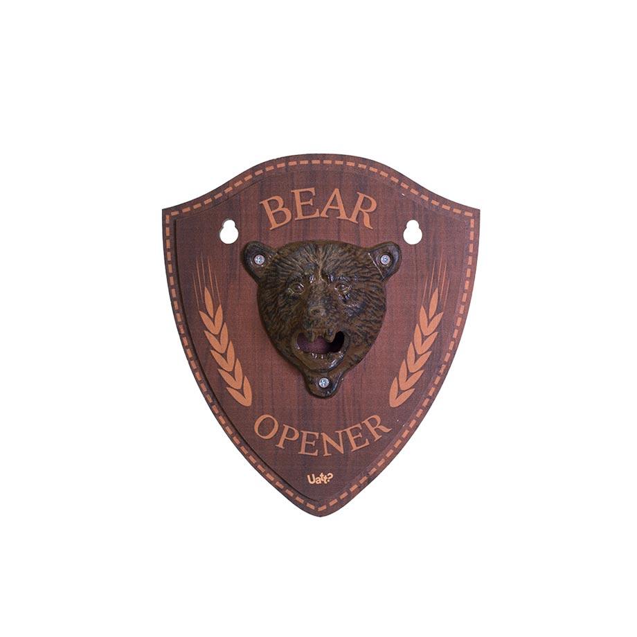 Quadro Abridor de Garrafas Urso - Bear Opener