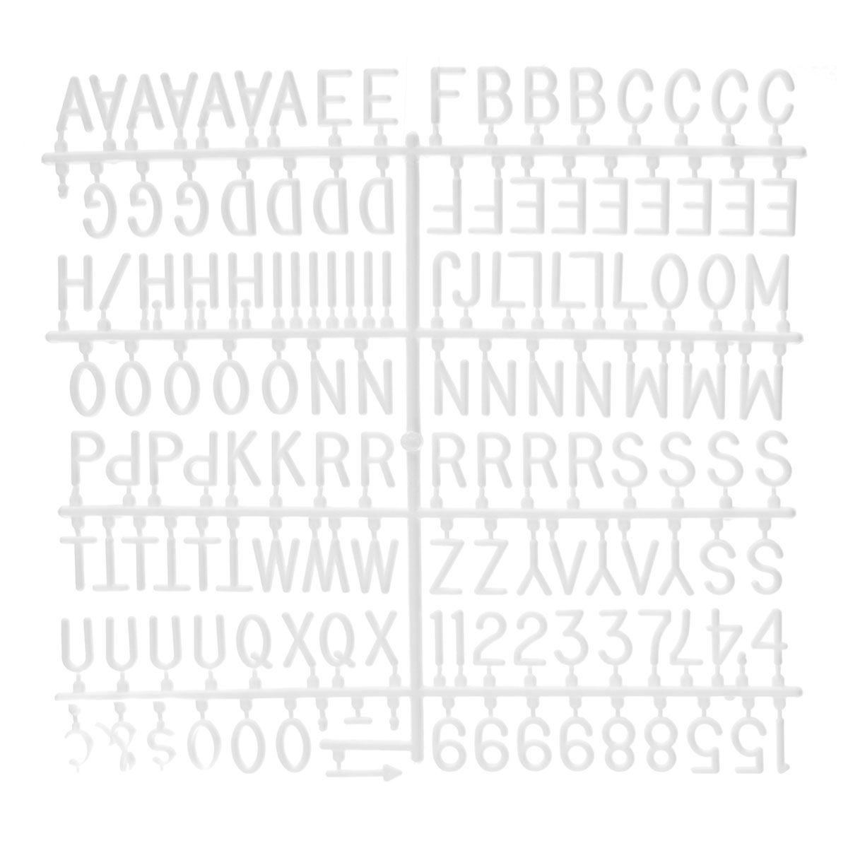 Quadro Alfabeto Letreiro com Porta Retrato