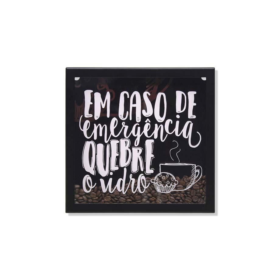 Quadro Grão Café Emergência