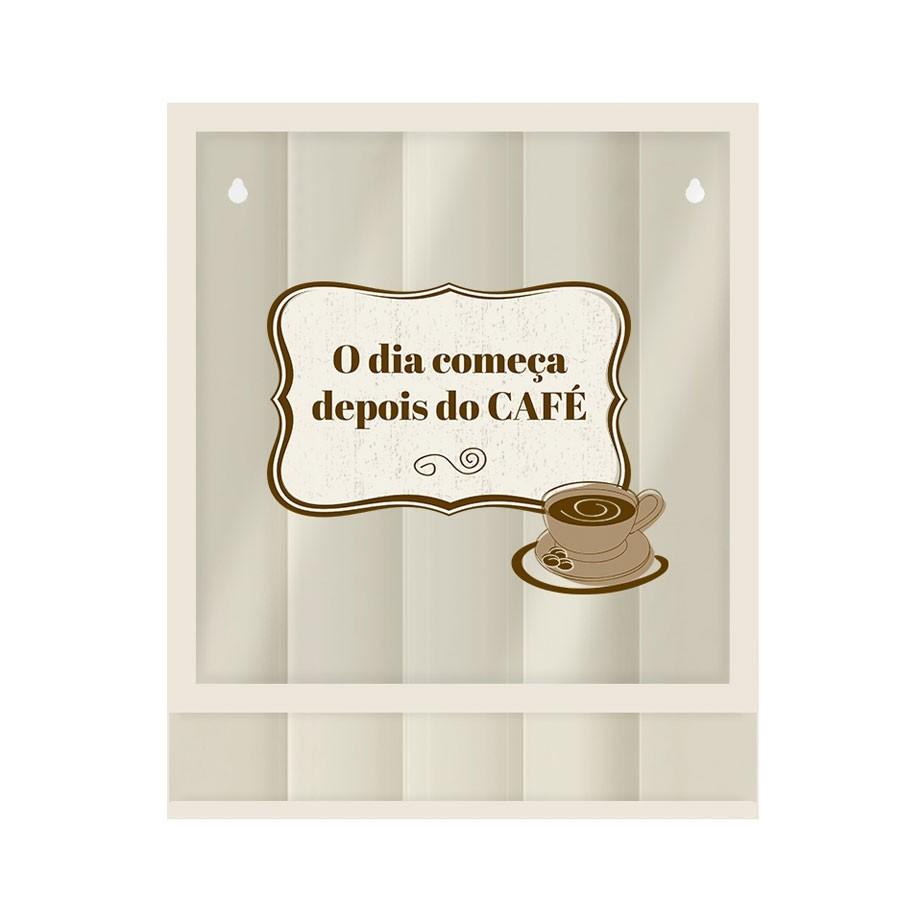 Quadro Porta Cápsulas Café O Dia