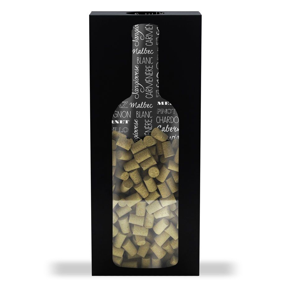 Quadro Porta Rolhas de Parede Grande Vinho