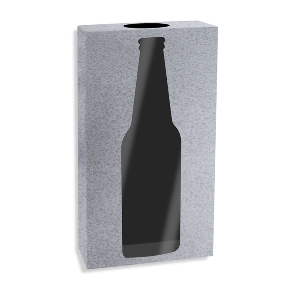 Quadro Porta Tampinhas Cerveja Industrial