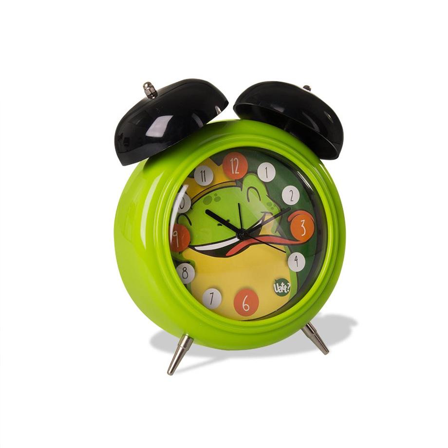 Relógio Despertador Animal Sapo - Verde
