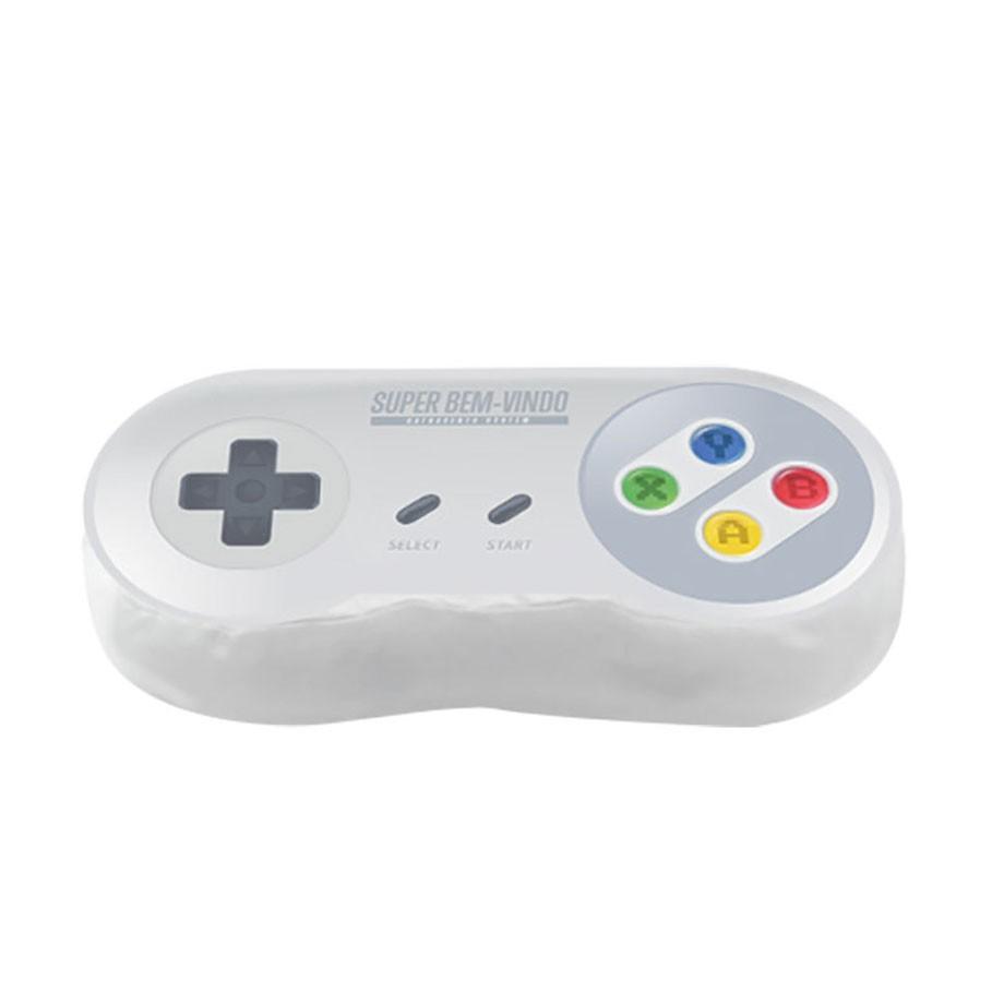 Super Almofada Formato Controle Video Game