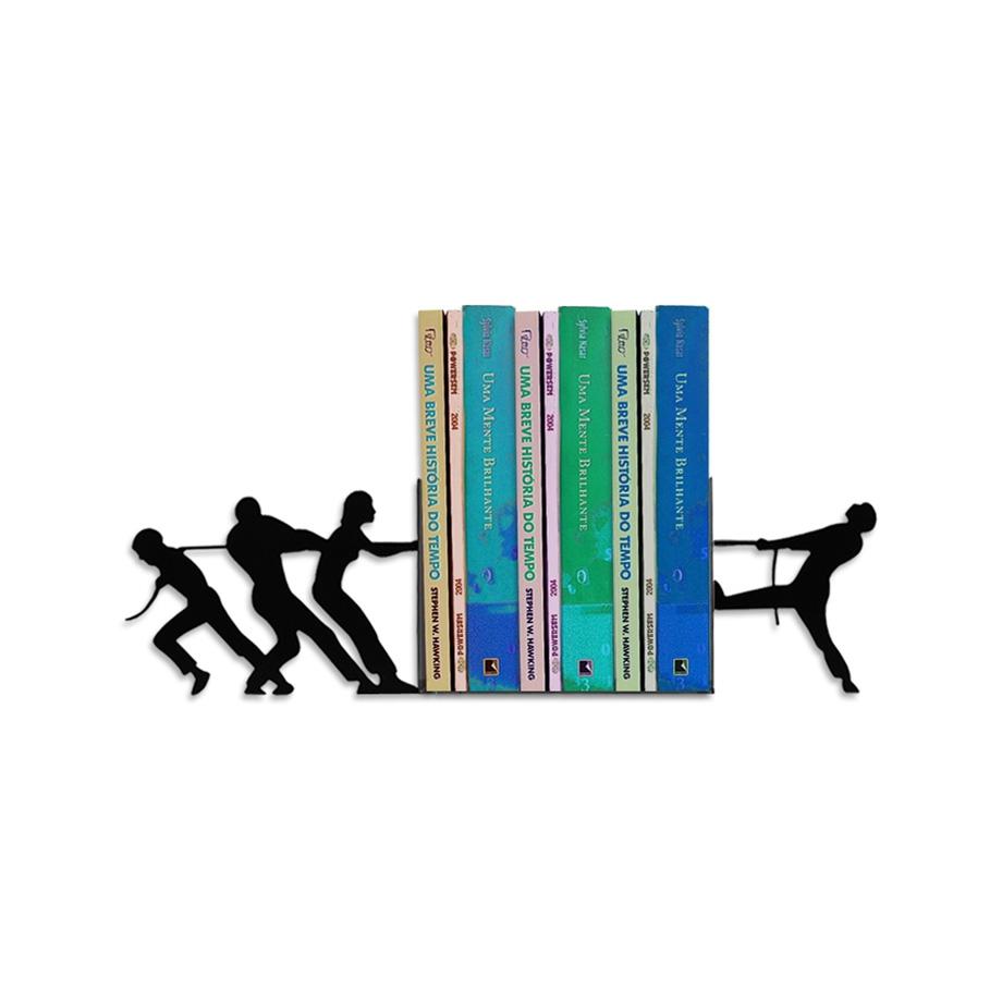 Suporte Aparador De Livro Dvd Cds - Cabo De Guerra FBA