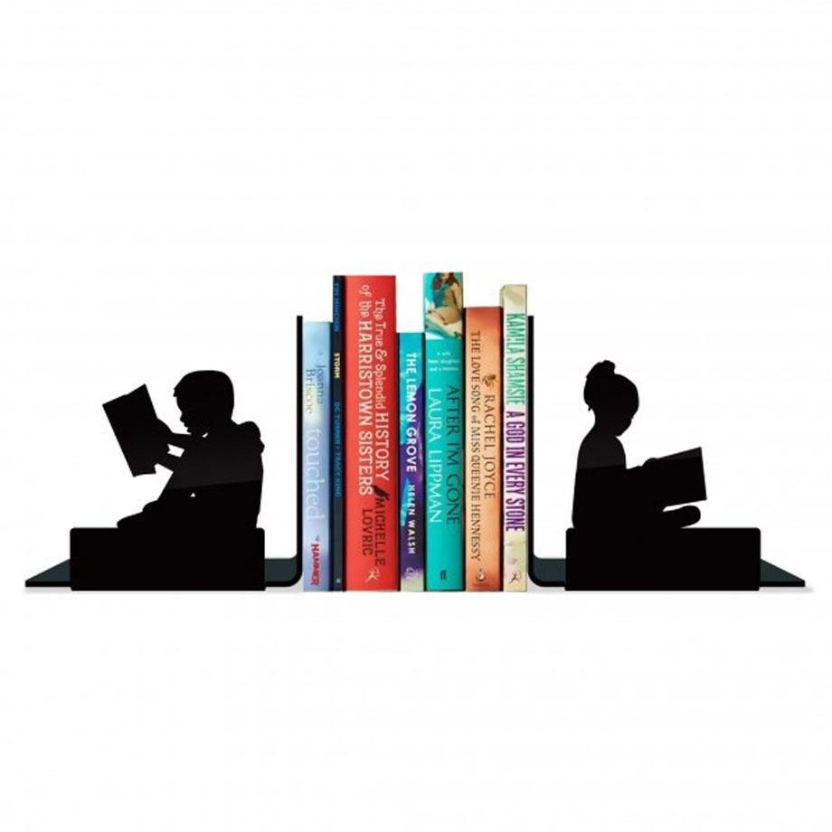 Suporte Aparador De Livros Dvd Cd Crianças Lendo