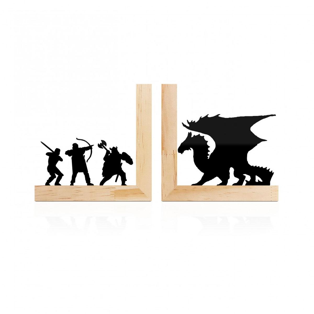 Aparador De Livros Dragão Terra Media RPG Base Pinus