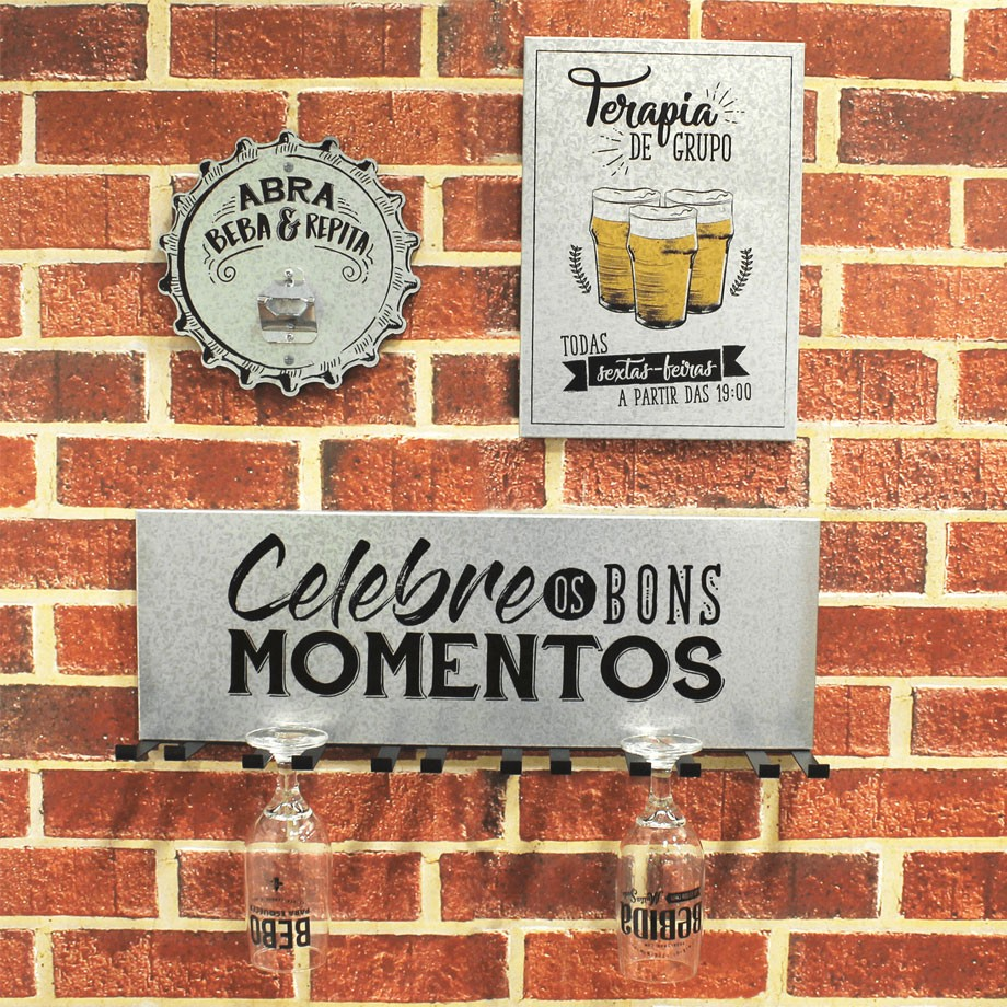 Suporte para Taças de Cerveja Momentos