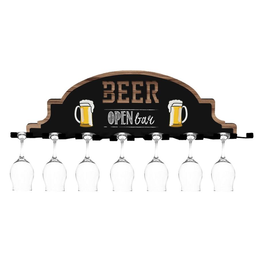 Suporte para Taças de Cerveja Open Bar
