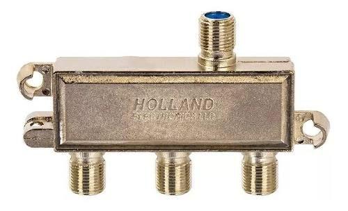 Divisor De Sinal 1x3 Holland 1 Giga Blindado