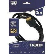 Cabo Hdmi Mxt 1.4 Ultra Hd 4k Od 6mm 3 Metros
