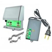 Booster Conjugado 26dB UHF/VHF/FM