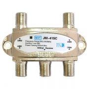 Chave Comutadora Diseqc 2.0 Quatro Antenas 4x1 Mxt