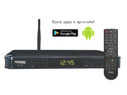 Conversor Digital Full Hd Com Android Smart Web Tv Vt7700