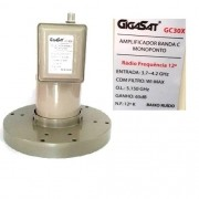 Lnbf Monoponto Banda C GigaSat GC30X Com filtro Wi-Max