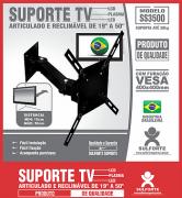 Suporte p/ TV LCD, LED e Plasma Universal de 19