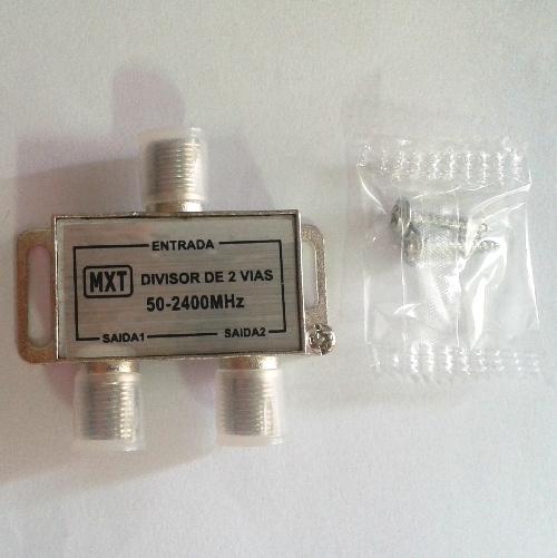 Divisor de Satélite 2x1 50-2400Mhz