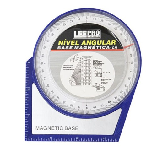 Inclinômetro Base Magnética