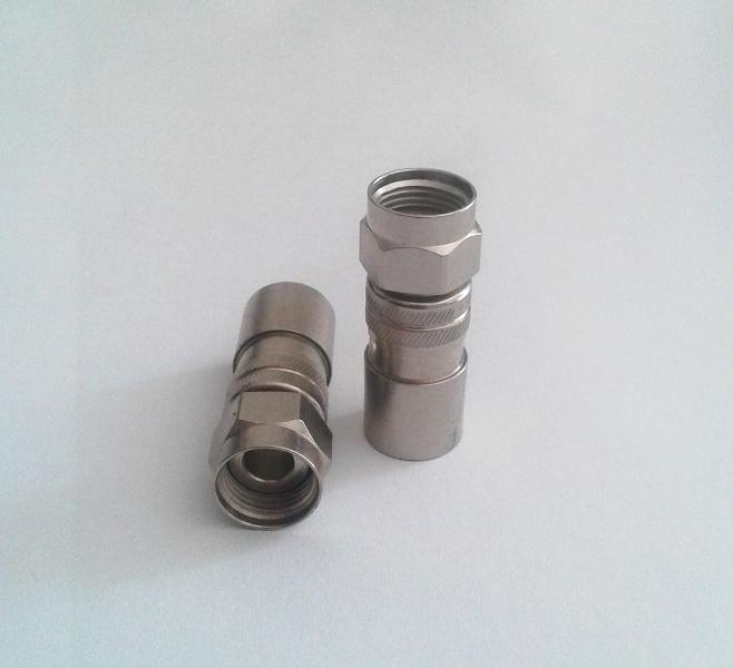Conector Rg6 De Compressão Profissional Pressão 6 pçs