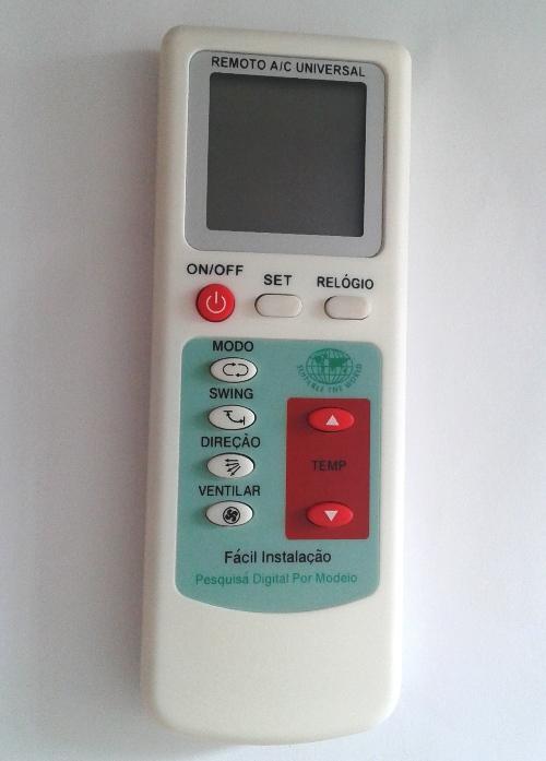 Controle Ar Condicionado Universal Inteligente One Touch Mxt