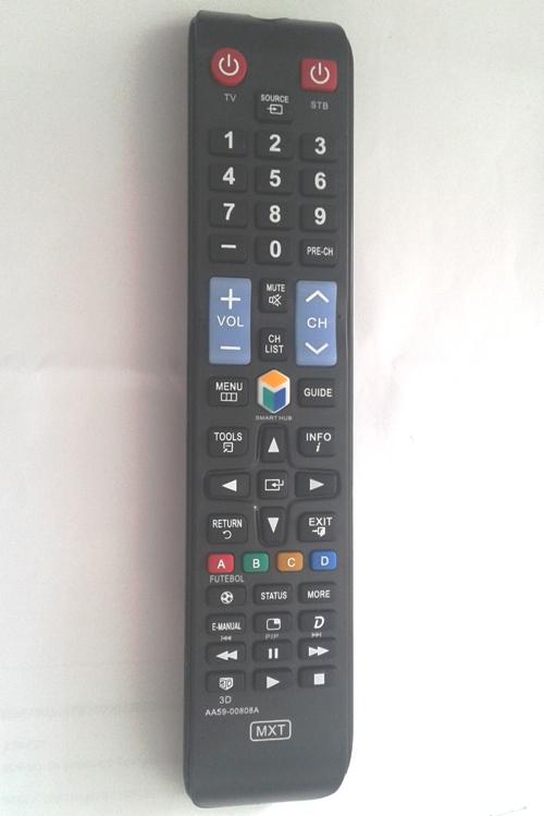 Controle Remoto MXT p/ Tv Smart 3D Samsung Futebol Aa59-00808A