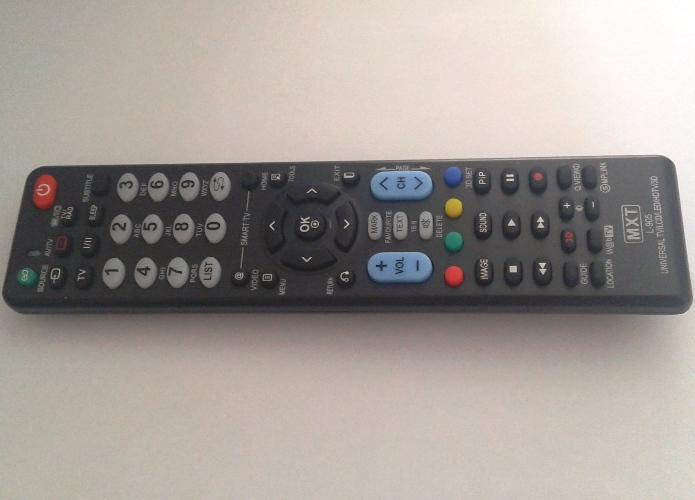 Controle Remoto Universal Mxt E-L905 Para Tv LG