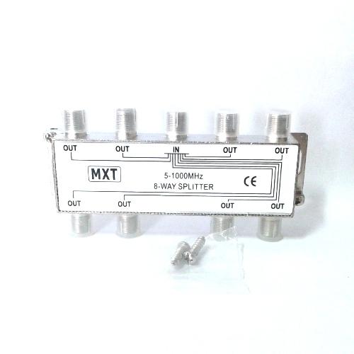 Divisor De Sinal 1x8 Baixa Frequência 5-1000Mhz