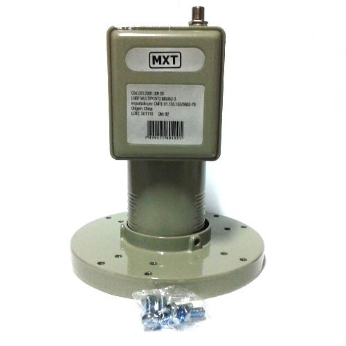 Lnbf Multiponto MXT Banda C Polarização V H Full Hd 1080