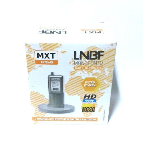 Lnbf Monoponto MXT Banda C Polarização V H Full Hd 1080
