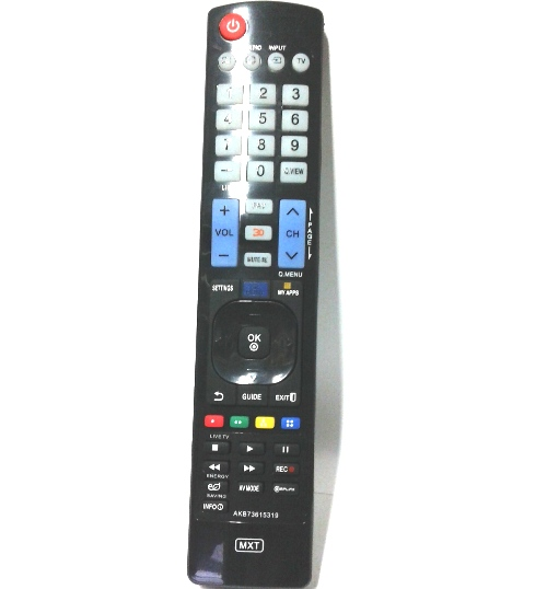 Controle LG Smart 3d Função My Apps Akb73615319