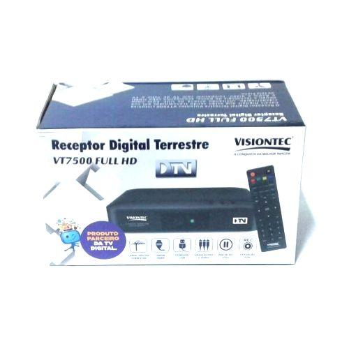 Kit Conversor Digital Visiontec Vt7500 + Antena Externa
