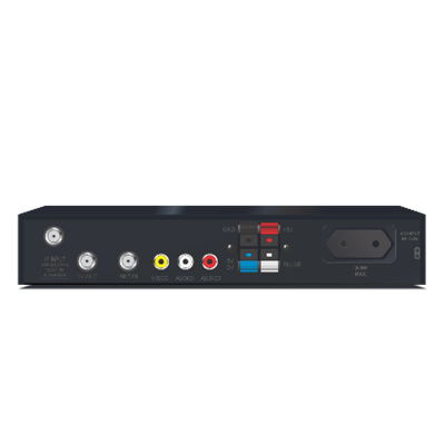 Receptor Analógico Via Satélite Orbisat OS200 Plus