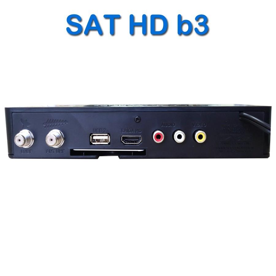 Receptor/Conversor Terrestre Century Midiabox B3 Digital Sat Regional
