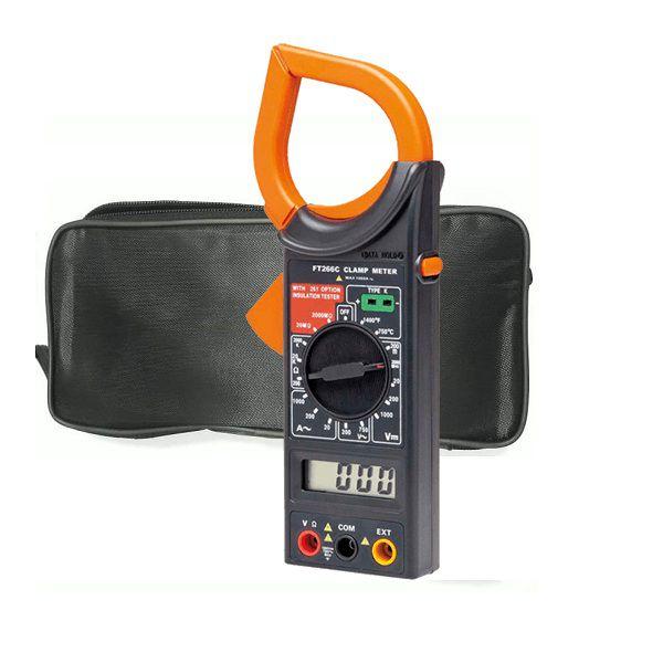 Alicate multímetro digital com termômetro FT266C MXT