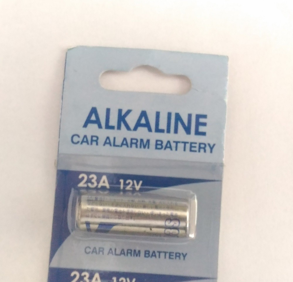 Bateria para alarme de carro V-mocell 23A