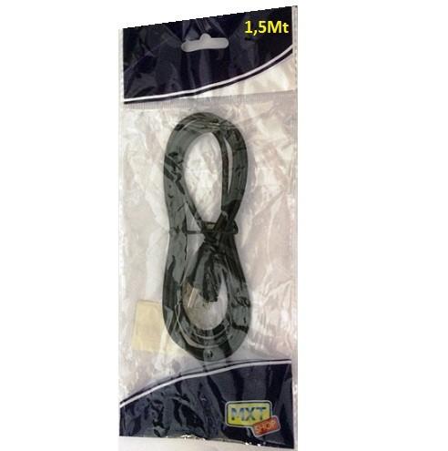 Cabo Adaptador USB p/ Micro USB p/ Celular 1,5m