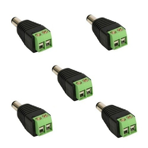 Conector P4 Macho com Borne Pacote com 5 Peças