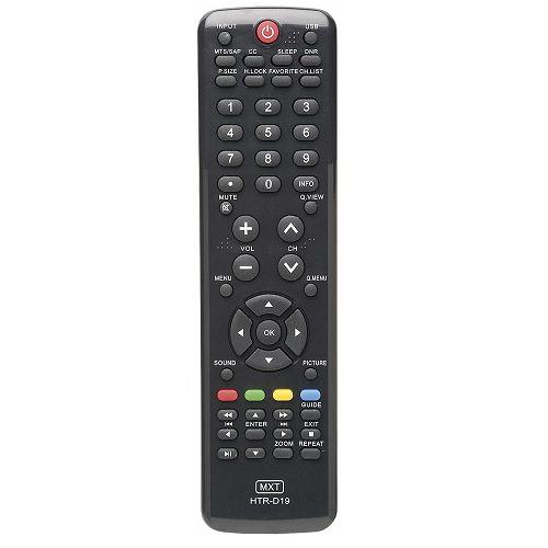 Controle Remoto Mxt 01143 Tv Buster Htr-D19