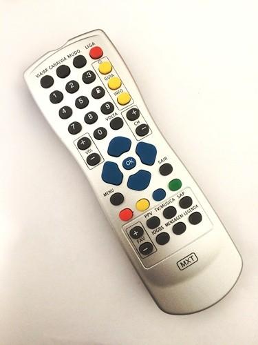 Controle Remoto MXT Claro Tv Visiontec Paralelo