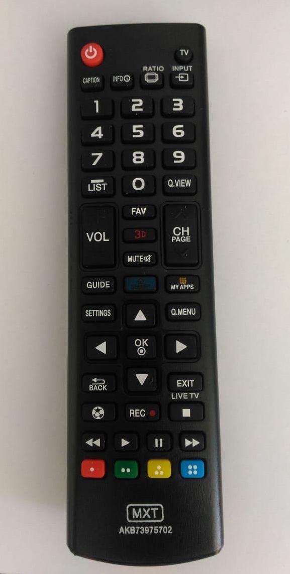 Controle Remoto MXT p/ TV LG Smart 3D Futebol AKB73975709PS
